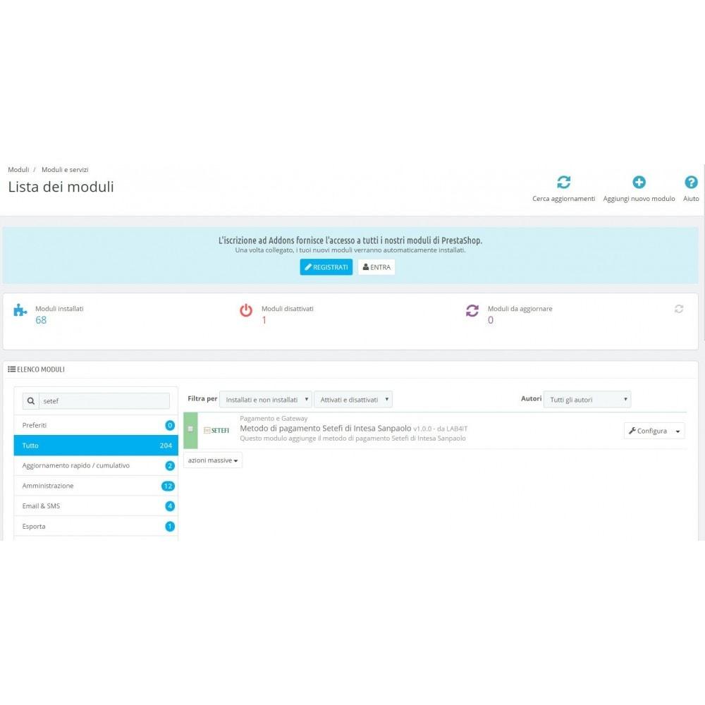 module - Pagamento con Carta di Credito o Wallet - Commerceweb di Intesa Sanpaolo Monetaweb - 1