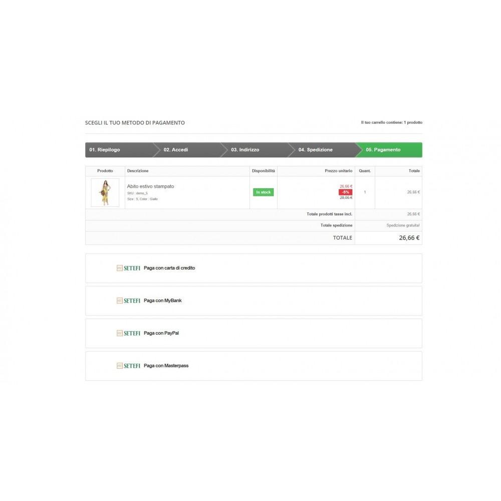 module - Pagamento con Carta di Credito o Wallet - Commerceweb di Intesa Sanpaolo Monetaweb - 3