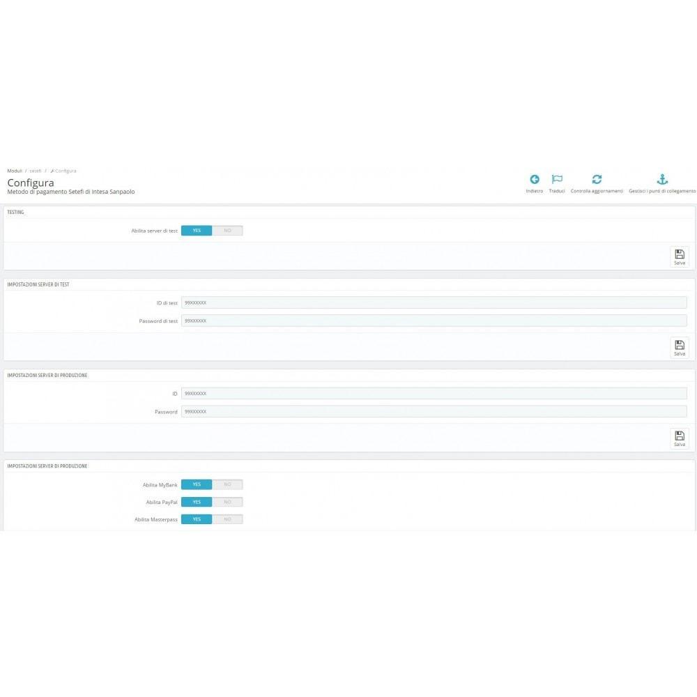 module - Pago con Tarjeta o Carteras digitales - Commerceweb Intesa Sanpaolo gateway Monetaweb - 2