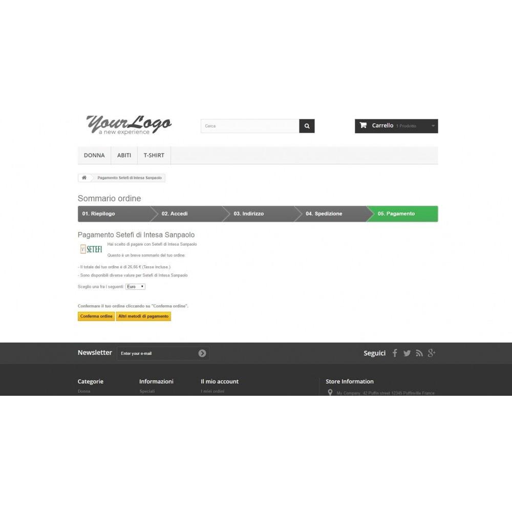 module - Pago con Tarjeta o Carteras digitales - Commerceweb Intesa Sanpaolo gateway Monetaweb - 4