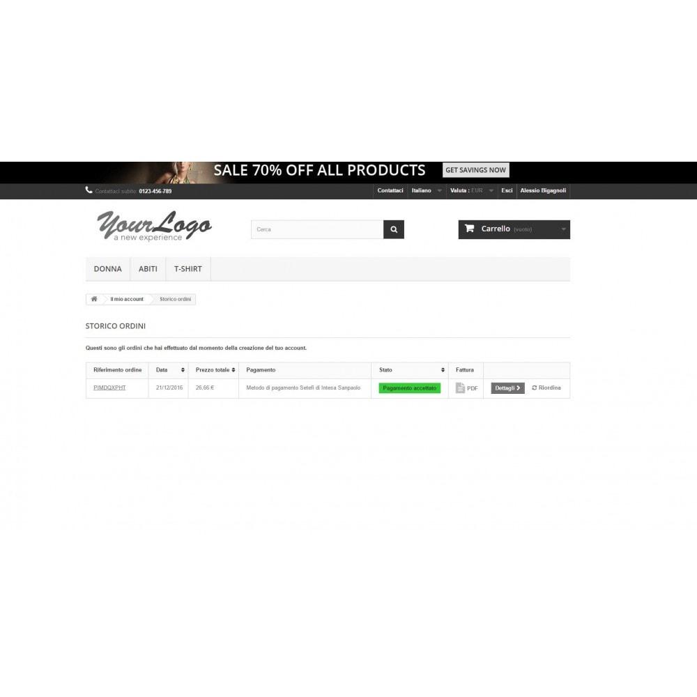 module - Pago con Tarjeta o Carteras digitales - Commerceweb Intesa Sanpaolo gateway Monetaweb - 7