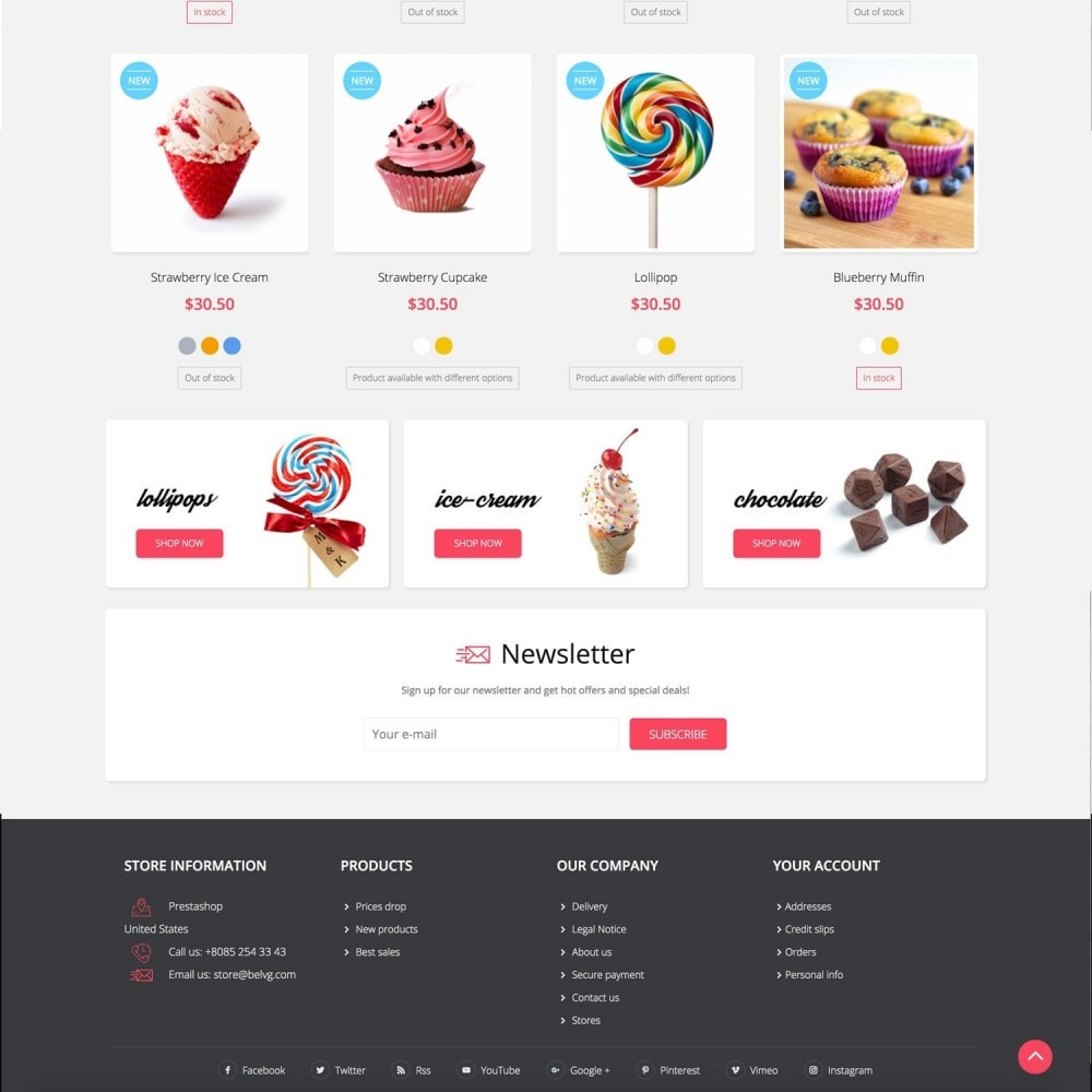 theme - Alimentos & Restaurantes - SWEETT - 3
