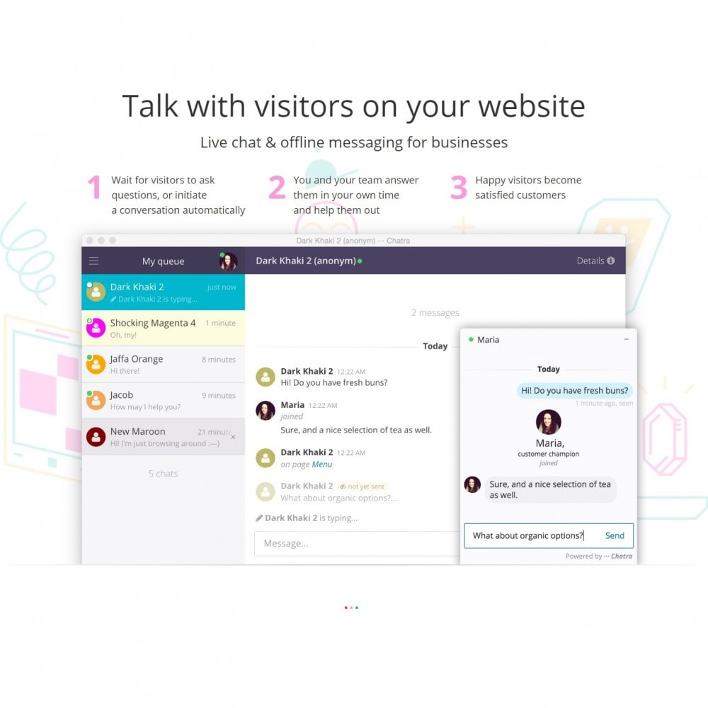 module - Suporte & Chat on-line - Chatra - Free Live Chat Integration - 2