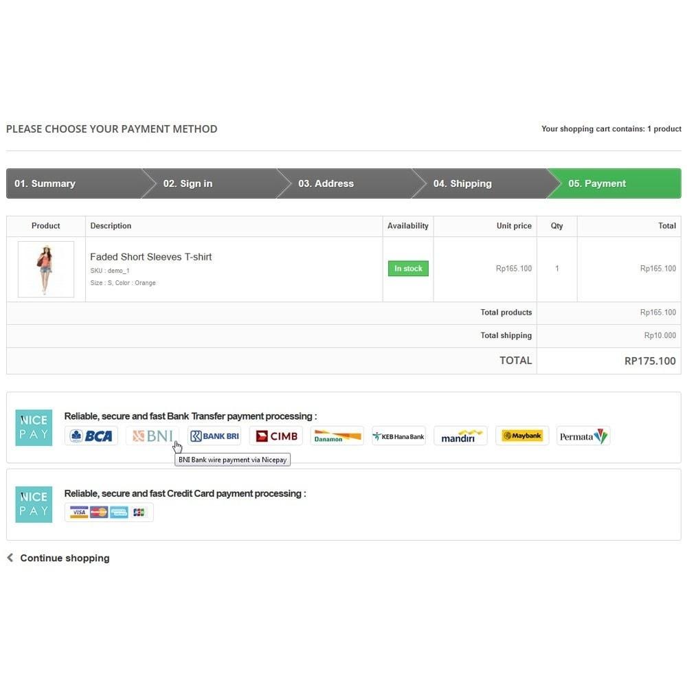module - Pagamento por cartão ou por carteira - Nicepay - 7