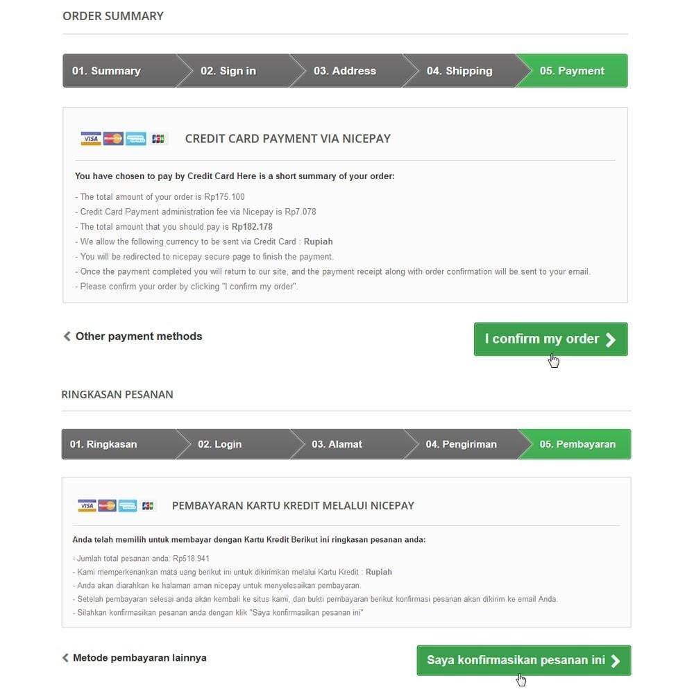 module - Pagamento por cartão ou por carteira - Nicepay - 11