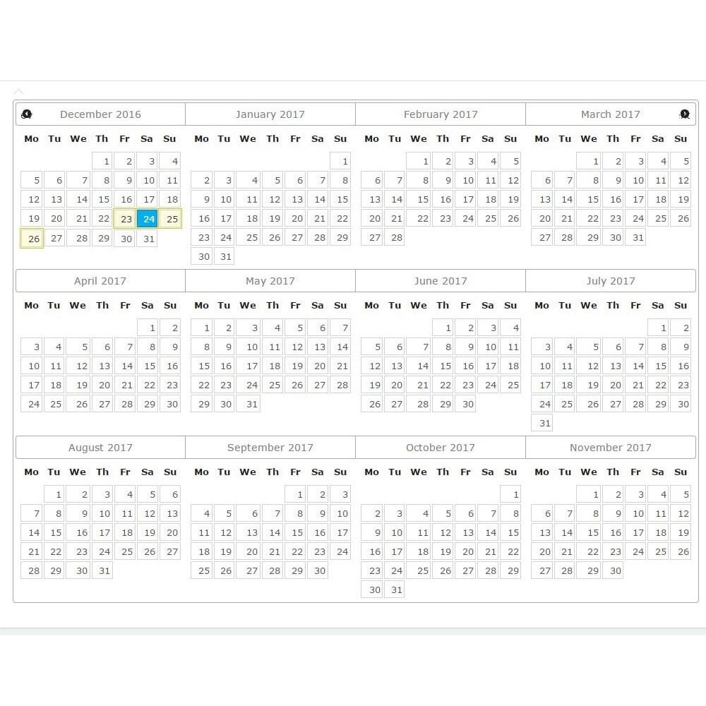 module - Prenotazioni & Noleggi - Booking Calendar - 3