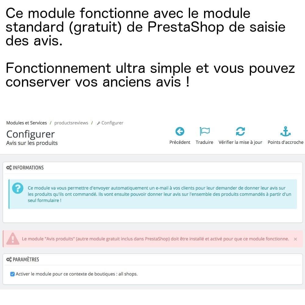 module - Avis clients - Avis produits sur une seule page (+ envoi e-mails) ! - 2
