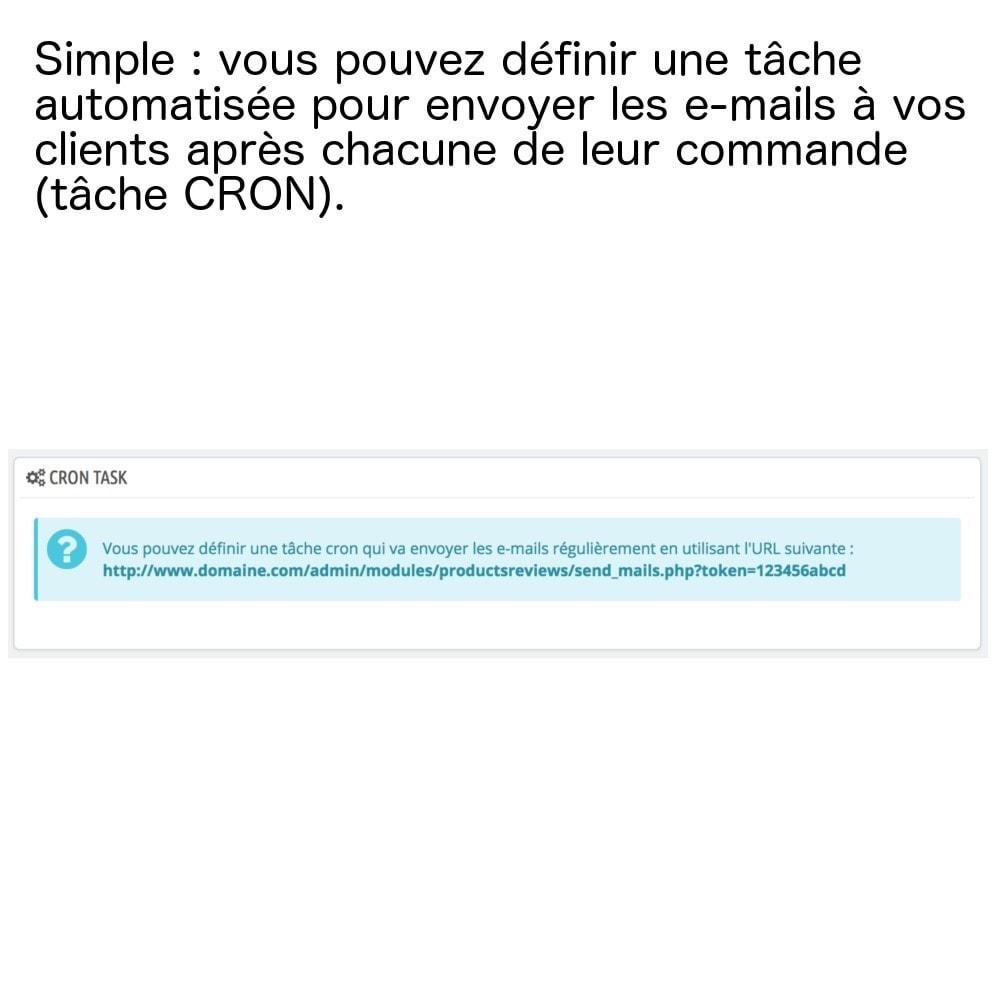 module - Avis clients - Avis produits sur une seule page (+ envoi e-mails) ! - 4