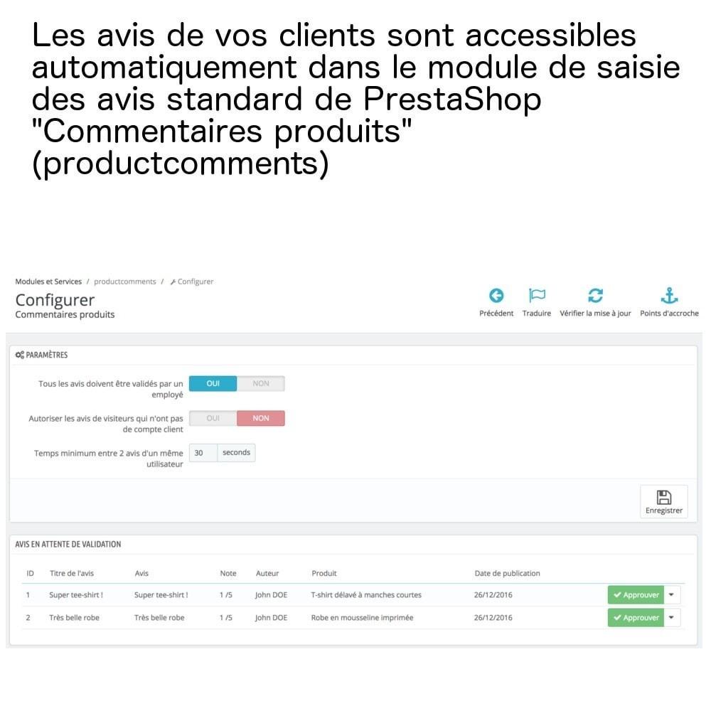 module - Avis clients - Avis produits sur une seule page (+ envoi e-mails) ! - 6