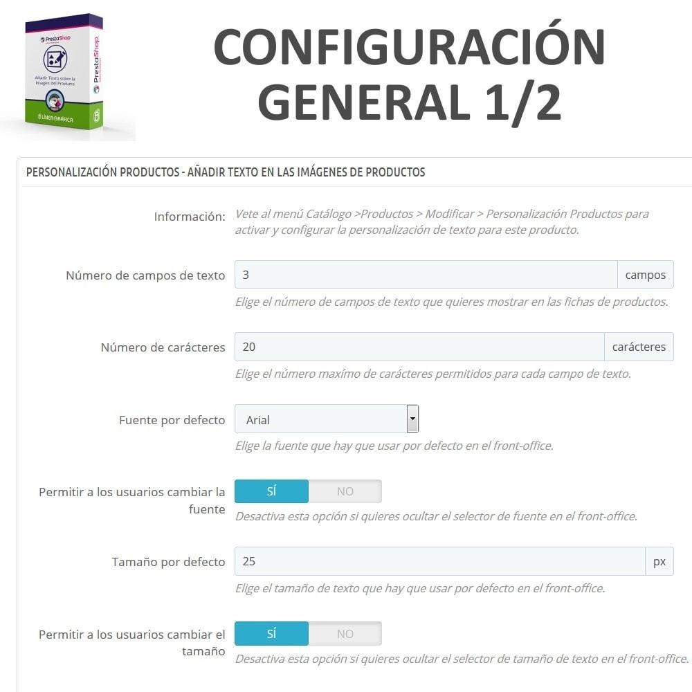 module - Combinaciones y Personalización de productos - Personalización Producto - Añadir Texto sobre Imagen - 4