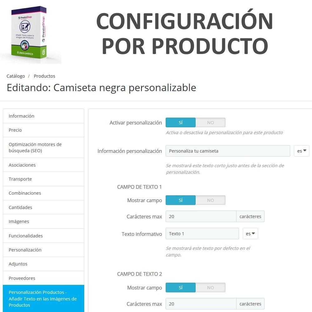 module - Combinaciones y Personalización de productos - Personalización Producto - Añadir Texto sobre Imagen - 6
