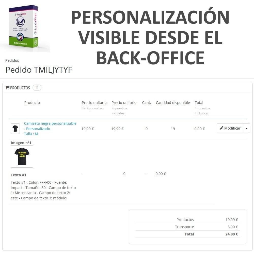 module - Combinaciones y Personalización de productos - Personalización Producto - Añadir Texto sobre Imagen - 8