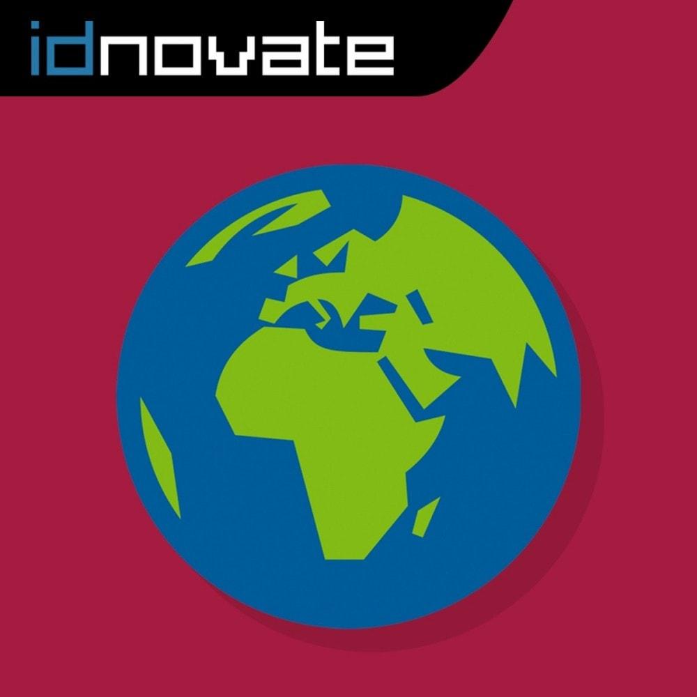 module - Internationaal & Lokalisatie - Auto Change Language And Currency - Geolocation - 1