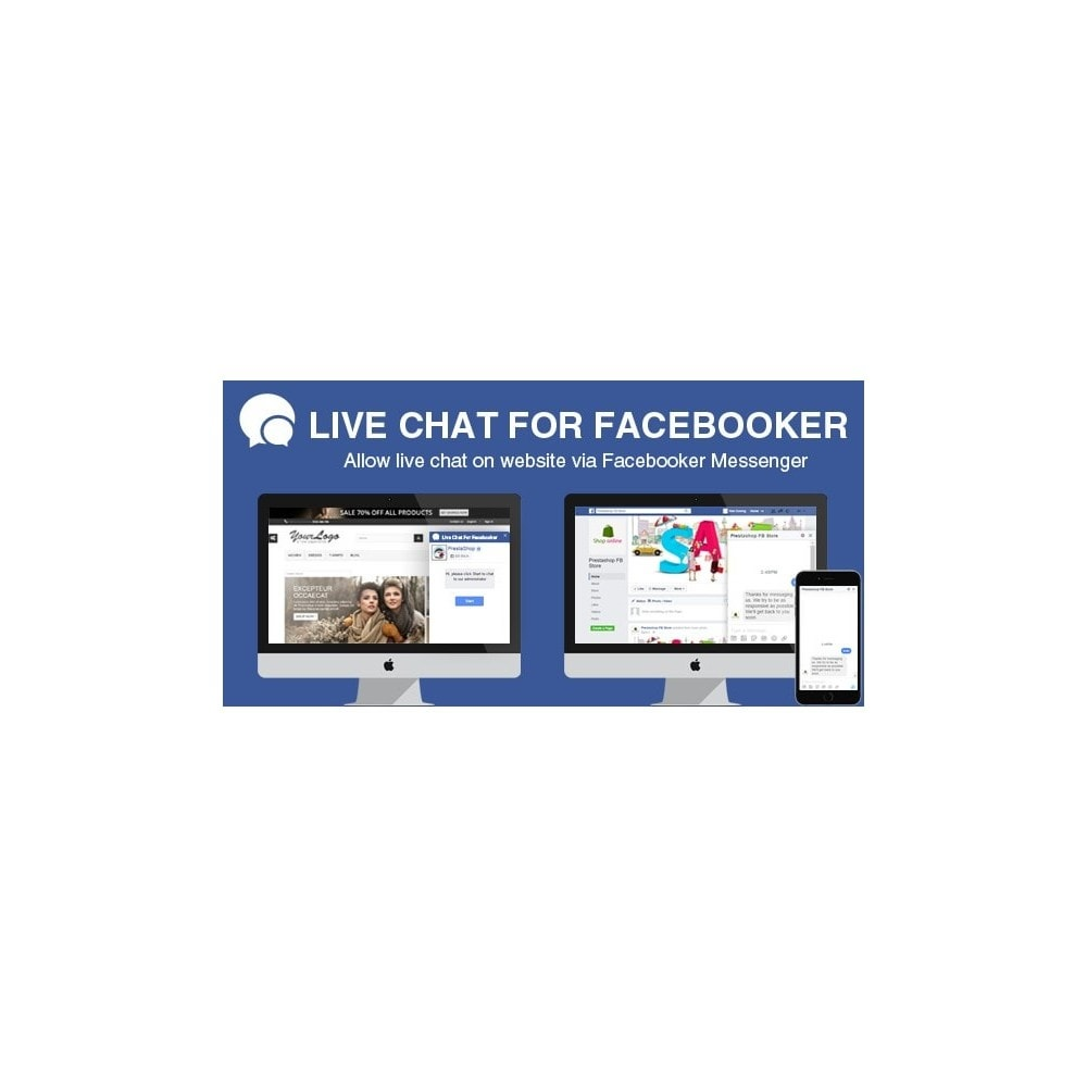 module - Поддержка и онлайн-чат - Complete for Live Chat - Real time Support with Social - 1