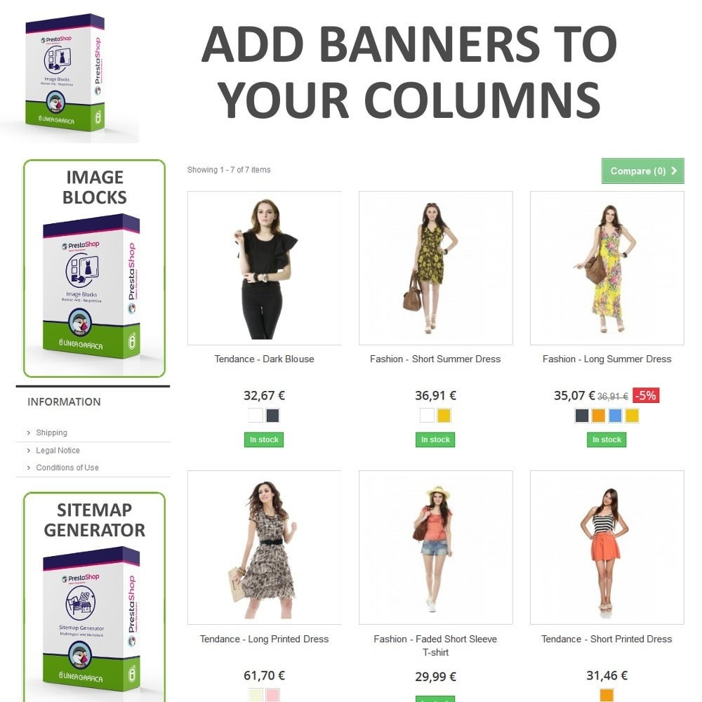 module - Blocks, Tabs & Banners - Image Blocks - Banner Ads - 2
