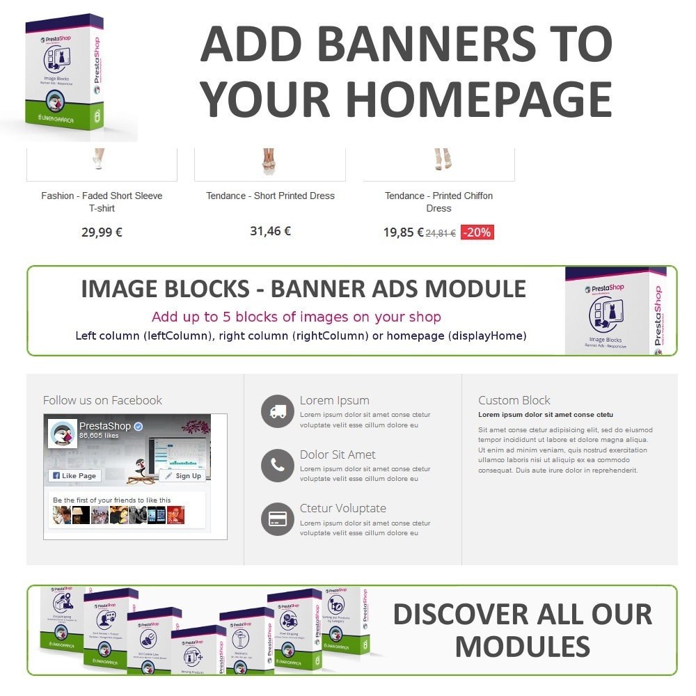 module - Blocks, Tabs & Banners - Image Blocks - Banner Ads - 3