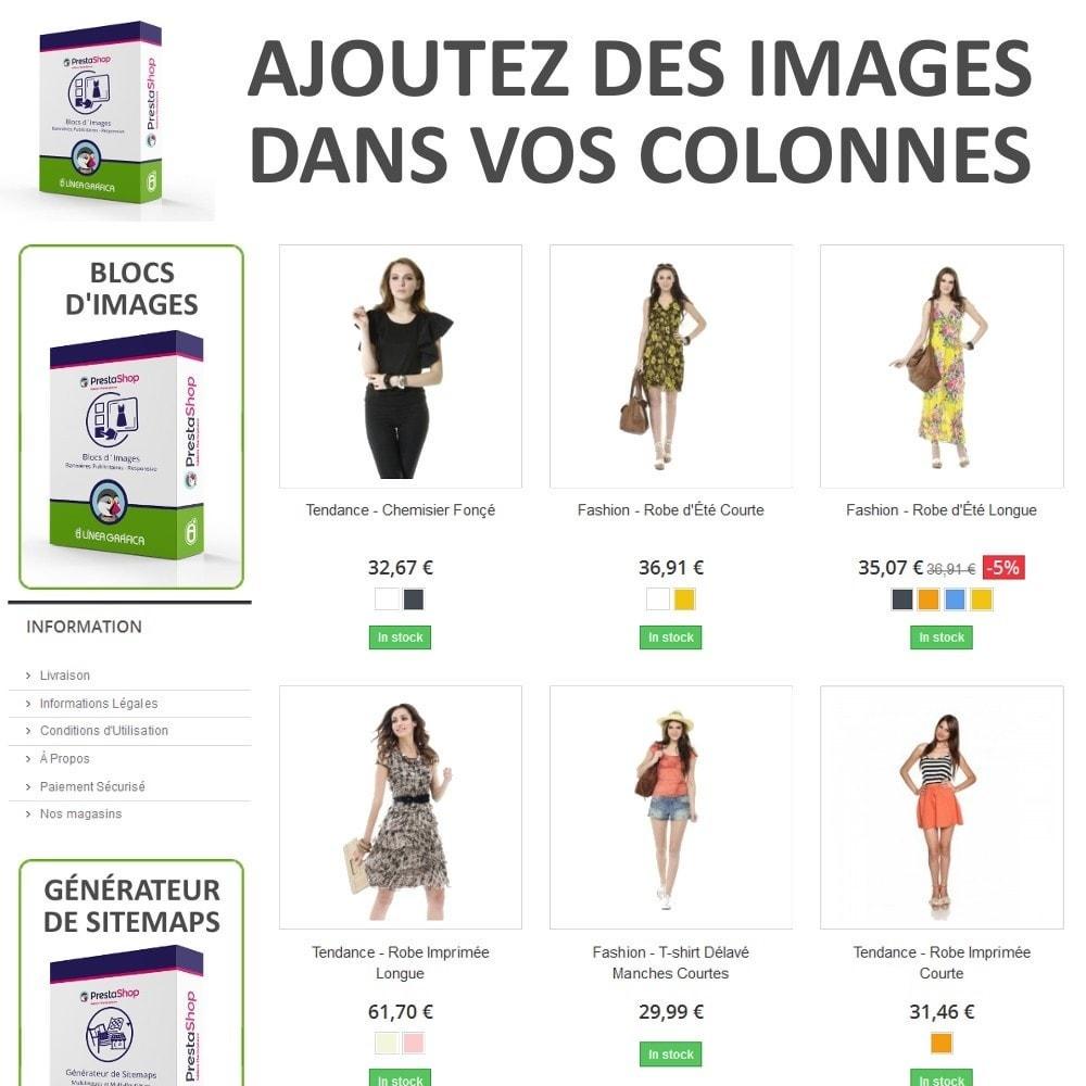 module - Blocs, Onglets & Bannières - Blocs d´Images - Bannières Publicitaires - 2
