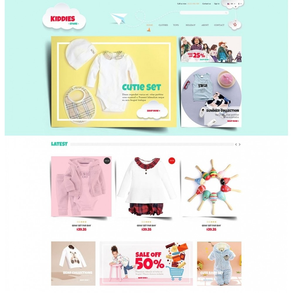 theme - Kinderen & Speelgoed - Kiddies Store - 2