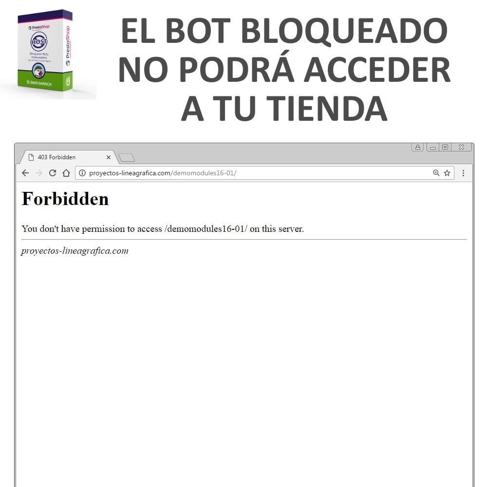 module - Seguridad y Accesos - Bloquear Bots / Usuarios por IP, País o User-Agent - 5