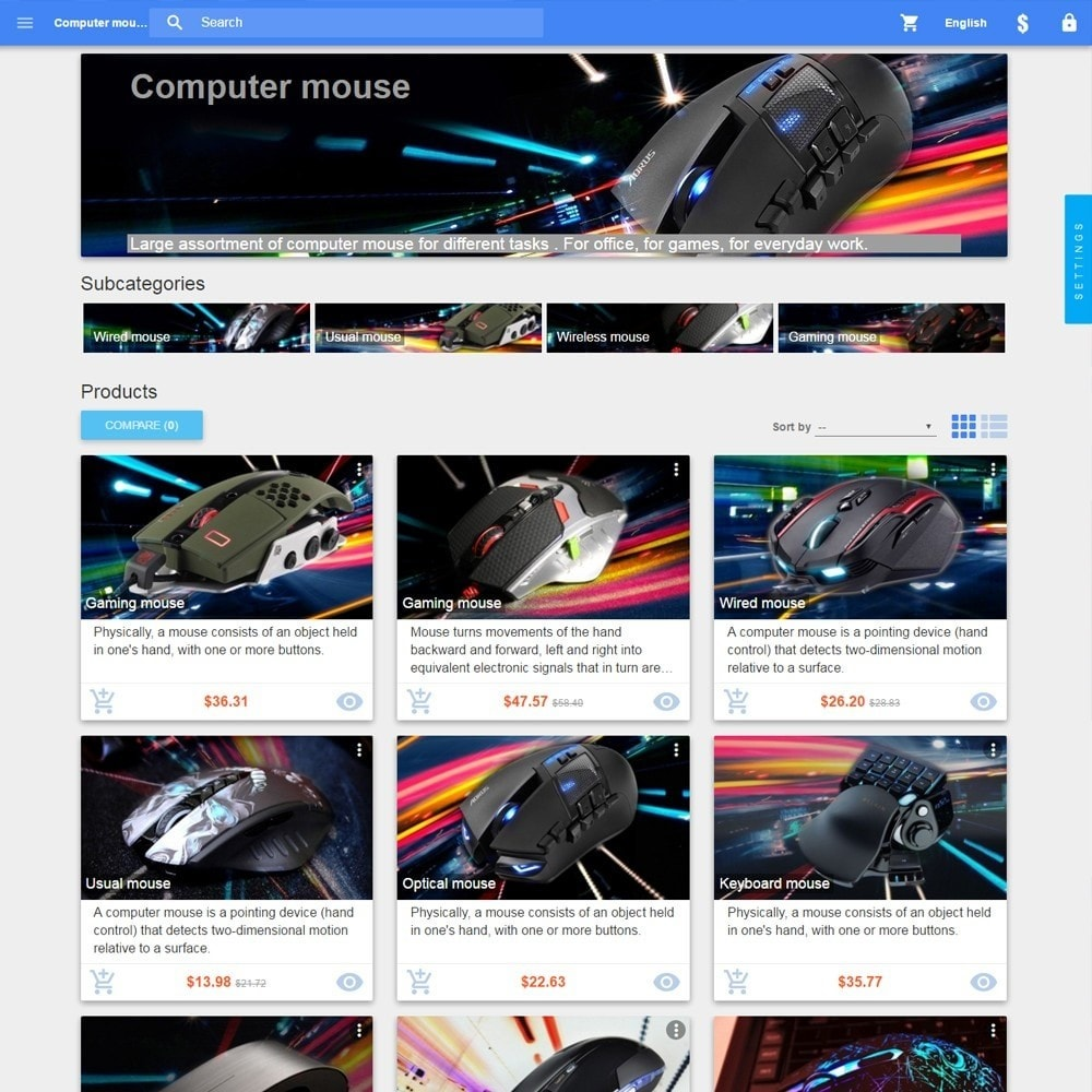 theme - Eletrônicos & High Tech - Material design Google - 4
