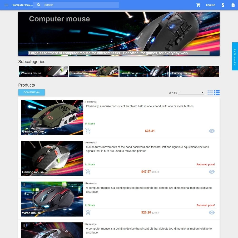 theme - Eletrônicos & High Tech - Material design Google - 5