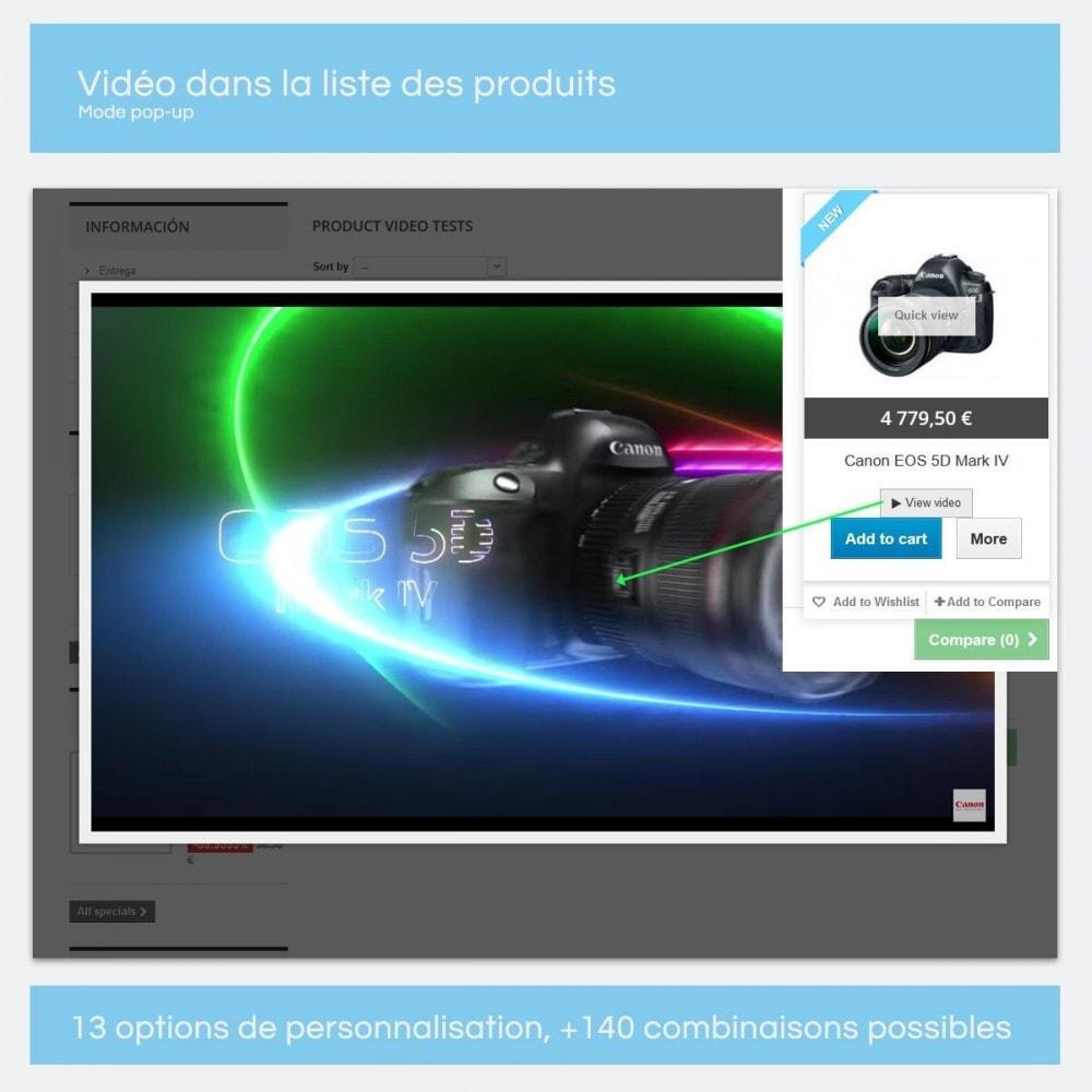 module - Vidéo & Musique - Vidéos pour les produits - Youtube, Vimeo... - 9
