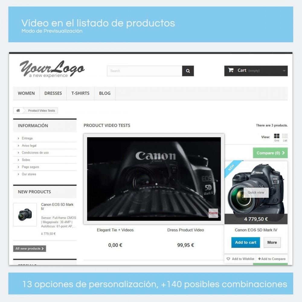 module - Vídeos y Música - Videos para Productos - Youtube, Vimeo... - 9