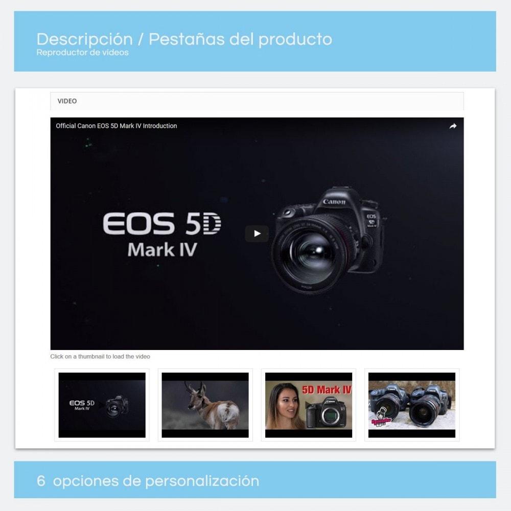 module - Vídeos y Música - Videos para Productos - Youtube, Vimeo... - 7