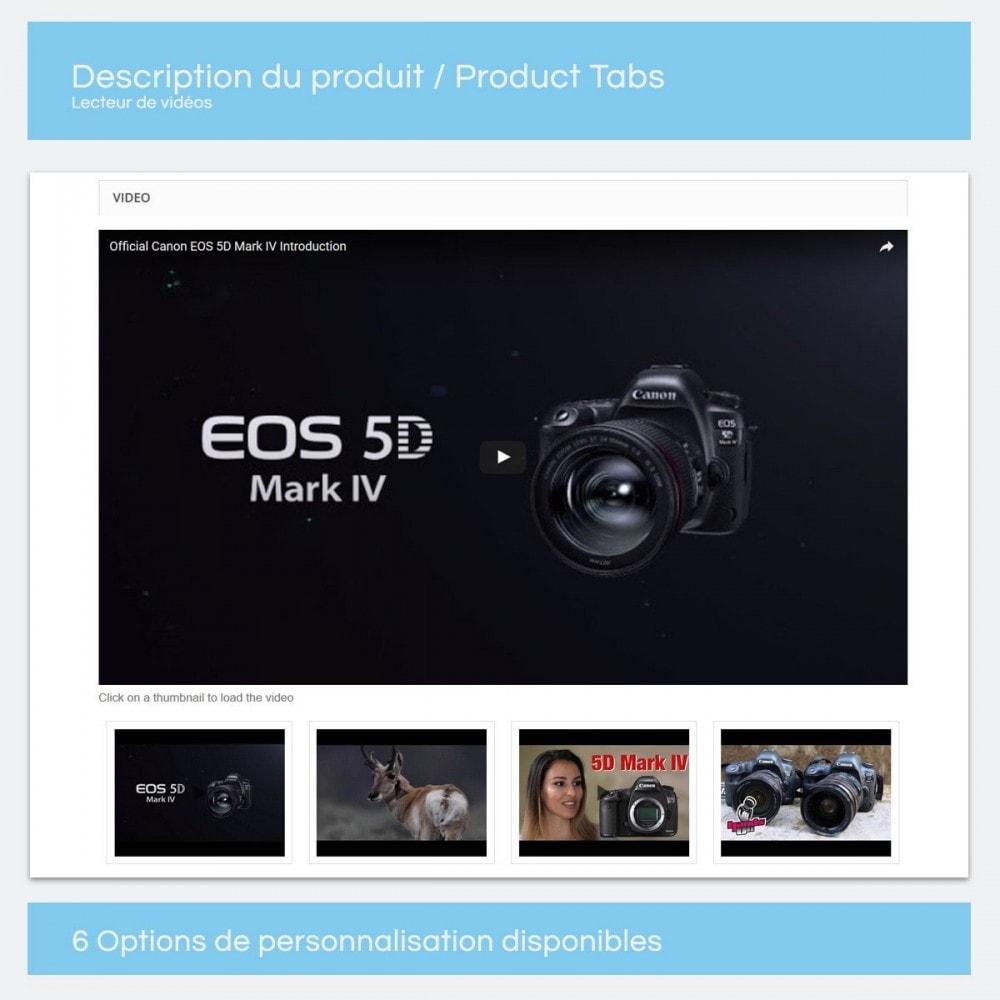 module - Vidéo & Musique - Vidéos pour les produits - Youtube, Vimeo... - 7