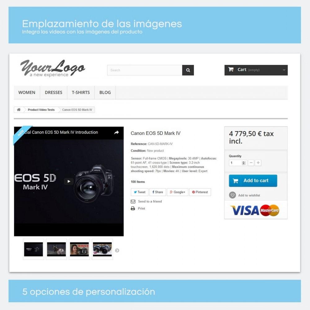 module - Vídeos y Música - Videos para Productos - Youtube, Vimeo... - 2