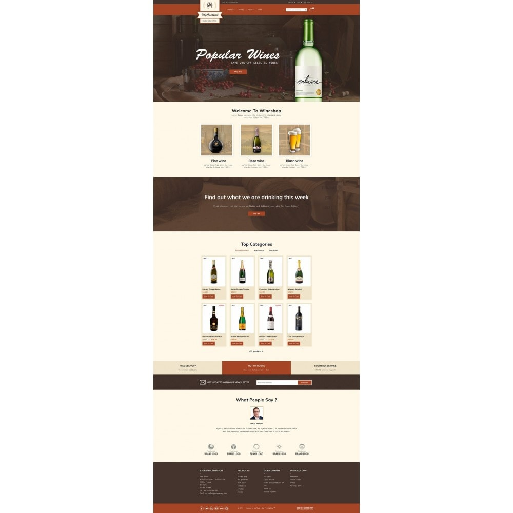 theme - Boissons & Tabac - My Cocktail Online Store - 2