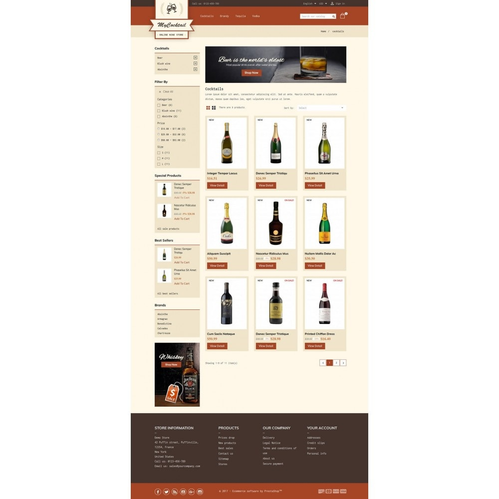 theme - Boissons & Tabac - My Cocktail Online Store - 3