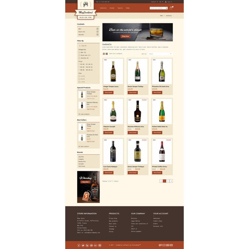 theme - Getränke & Tabak - My Cocktail Online Store - 3