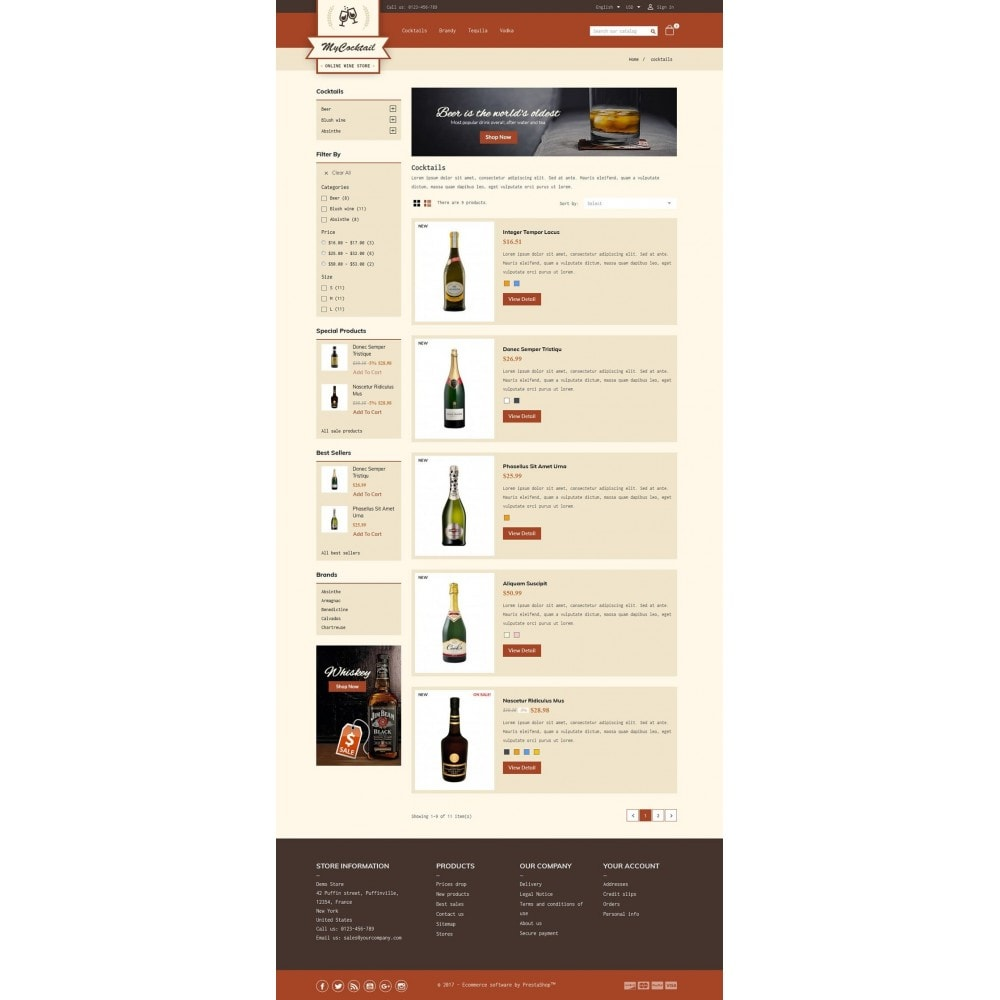 theme - Boissons & Tabac - My Cocktail Online Store - 4