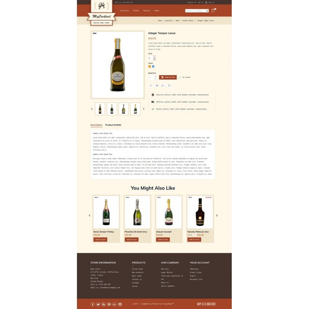 theme - Getränke & Tabak - My Cocktail Online Store - 5