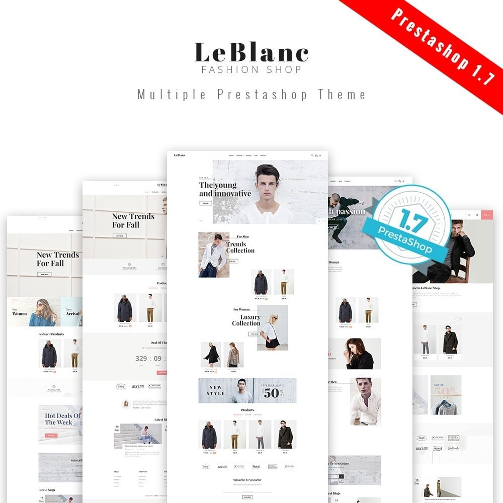 theme - Fashion & Shoes - Leo Leblanc - 1