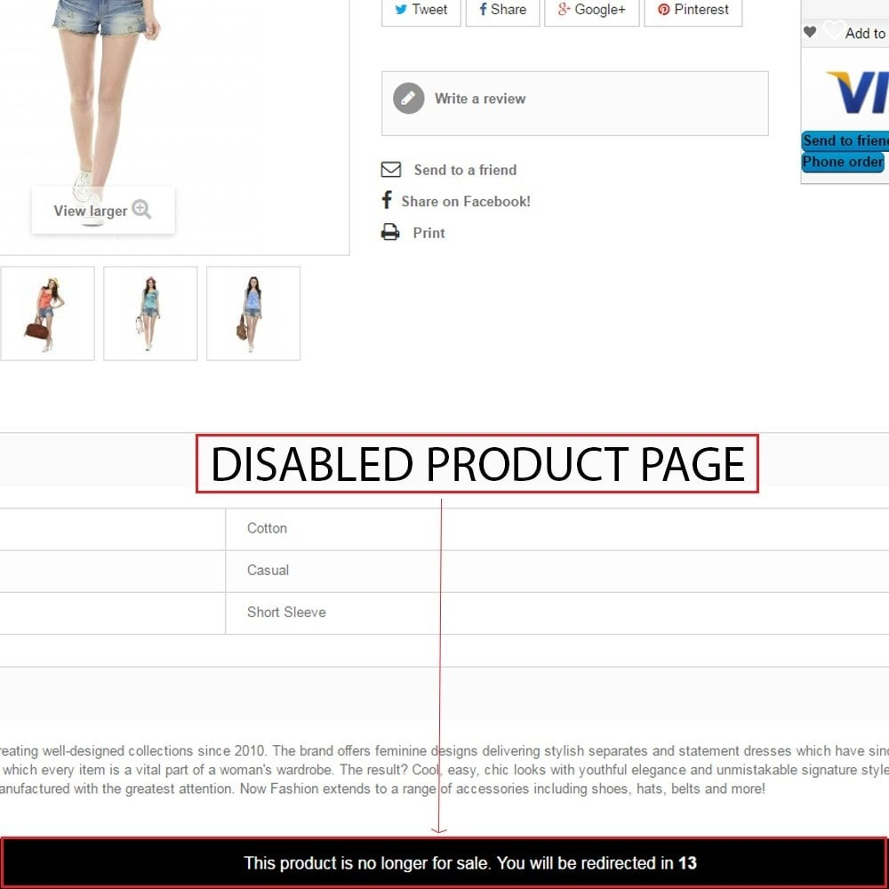 module - URL y Redirecciones - Out of Stock & Disabled product management - 6