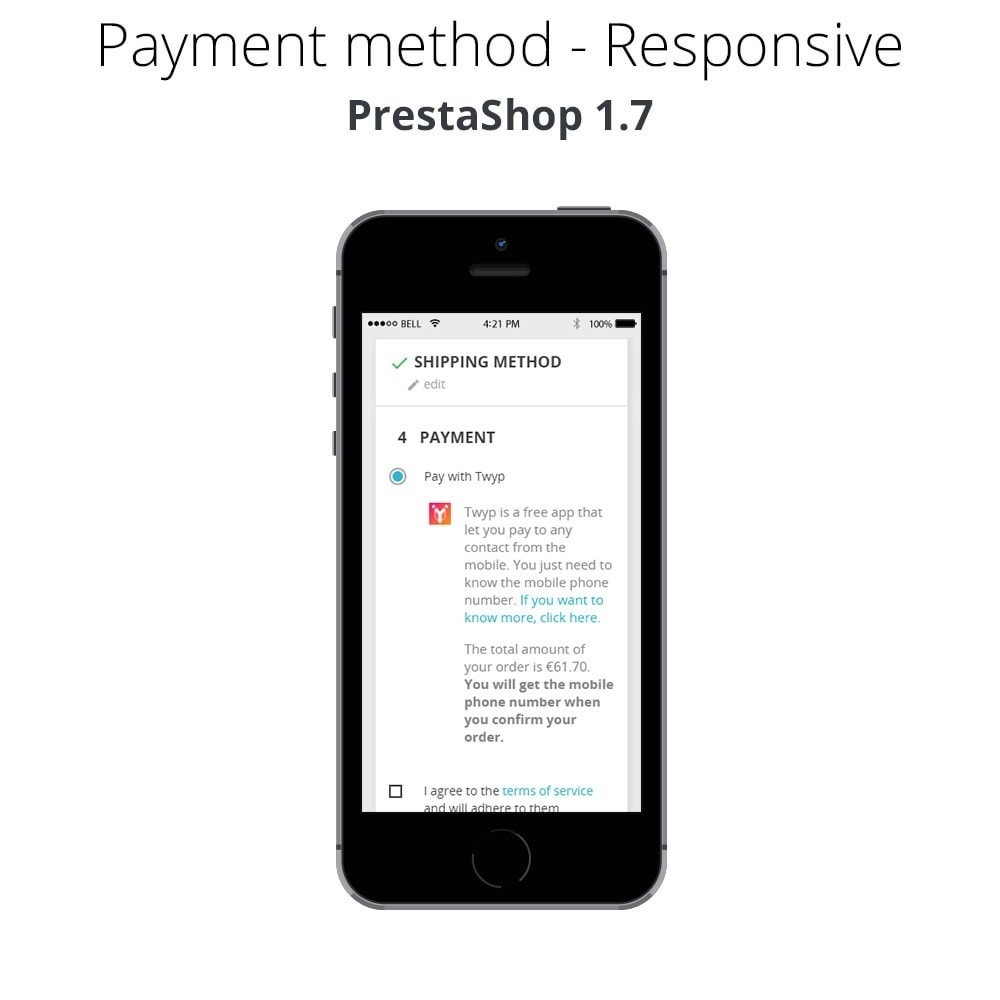 module - Andere Zahlungsmethoden - Twyp - Mobile payment - 6