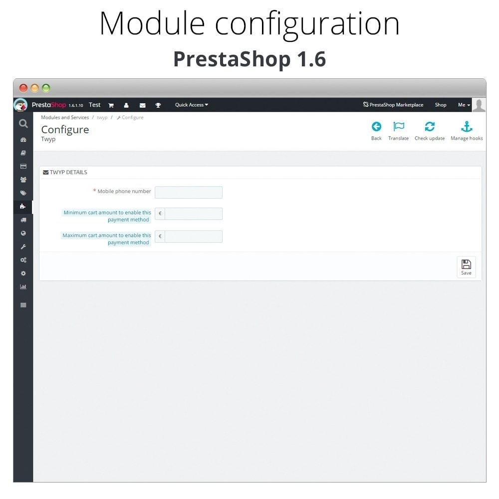module - Altri Metodi di Pagamento - Twyp - Mobile payment - 7