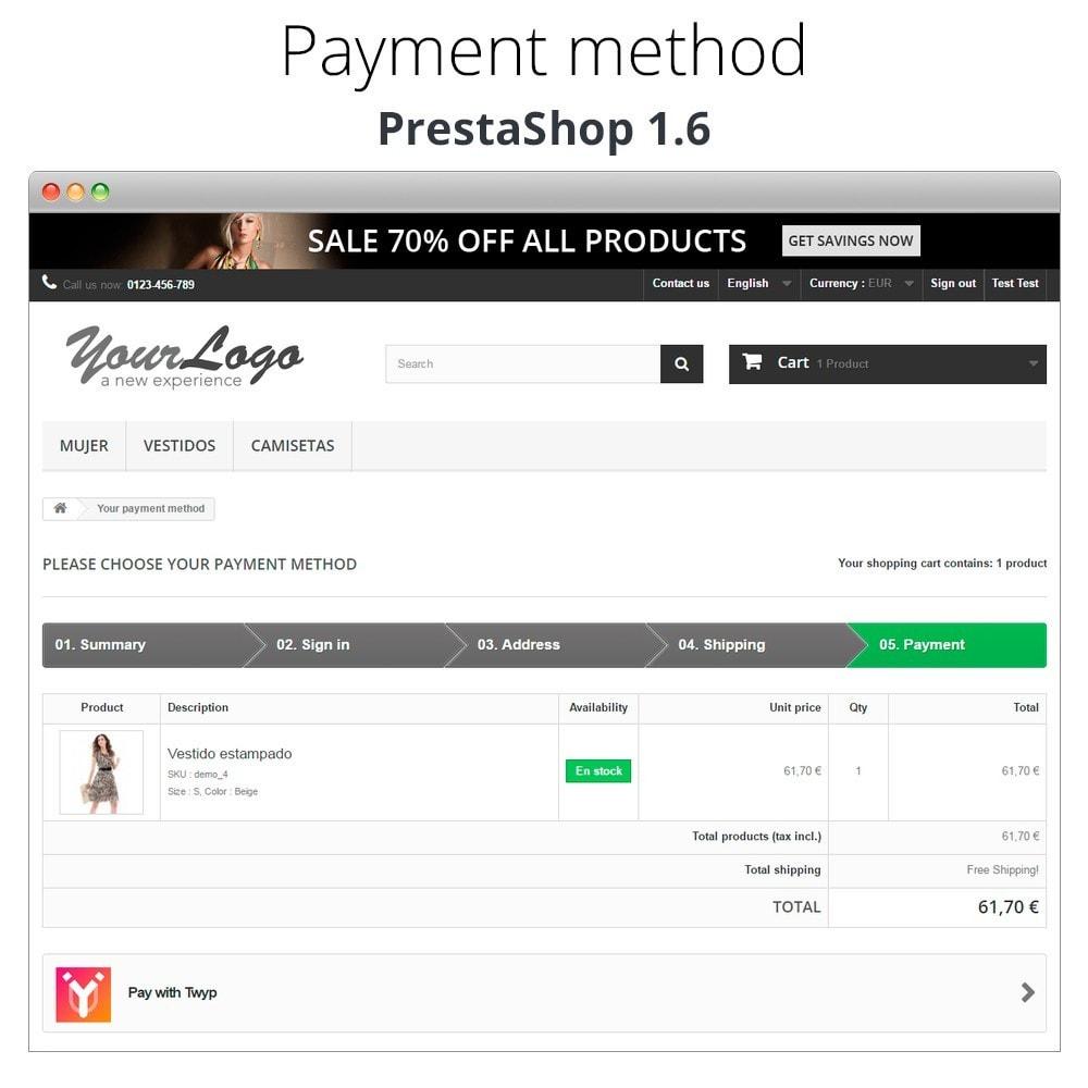 module - Altri Metodi di Pagamento - Twyp - Mobile payment - 8