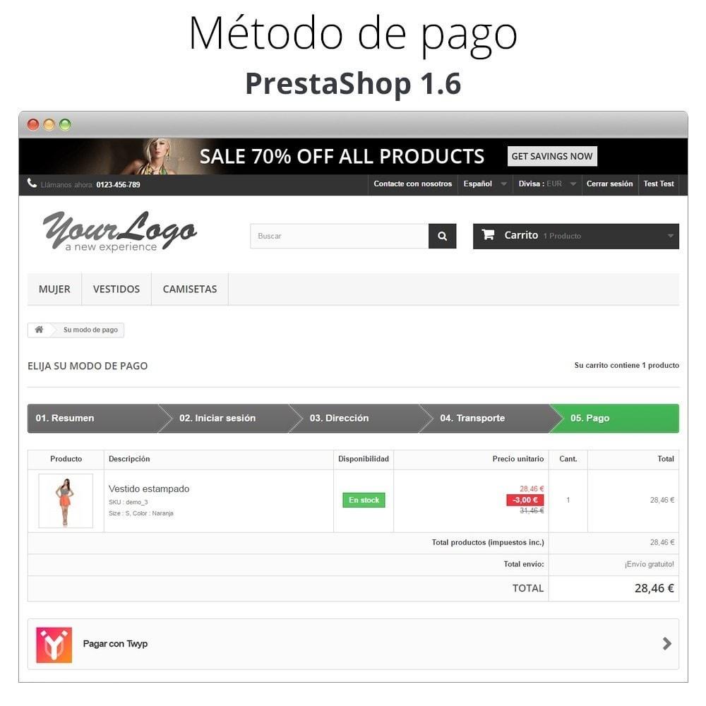 module - Otros métodos de pago - Twyp - Pago con el móvil - 8