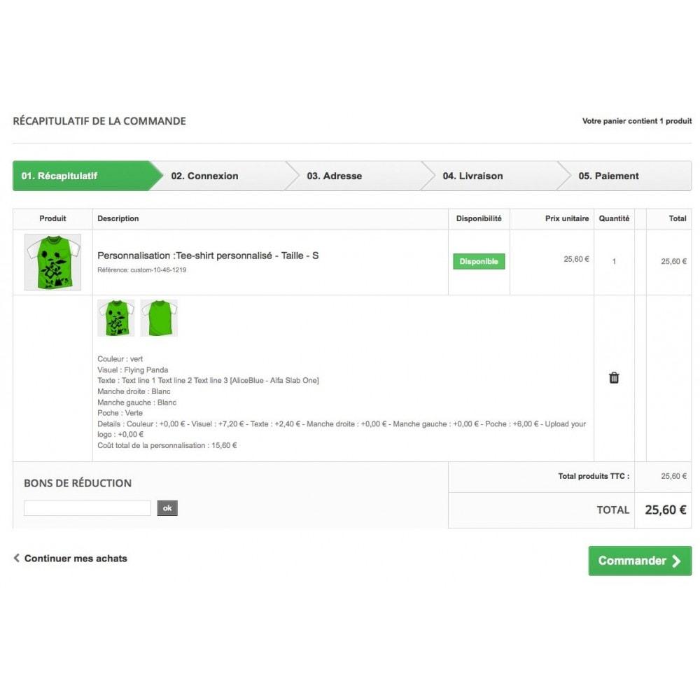 module - Bundels & Personalisierung - Modul für Produkt-Optionen und Individualisierung - 5