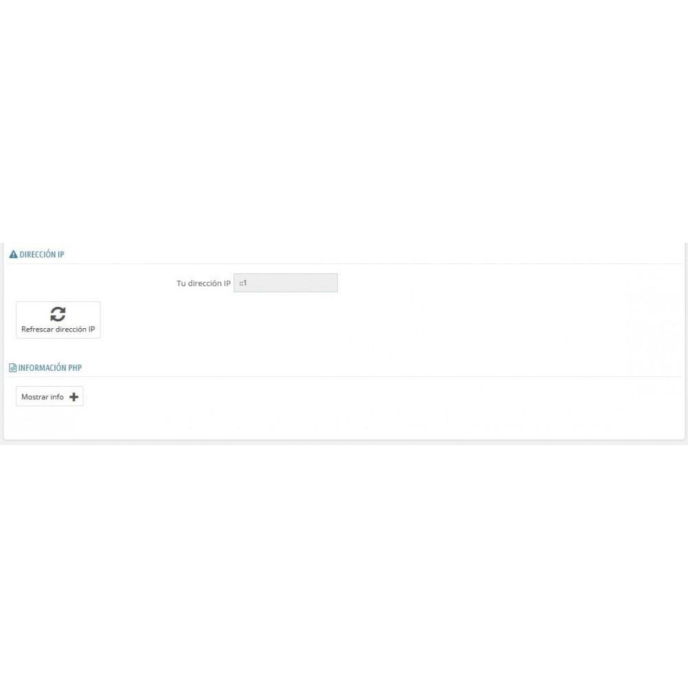 module - Seguridad y Accesos - Selector modo Debug - Basado en direcciones IP - 1