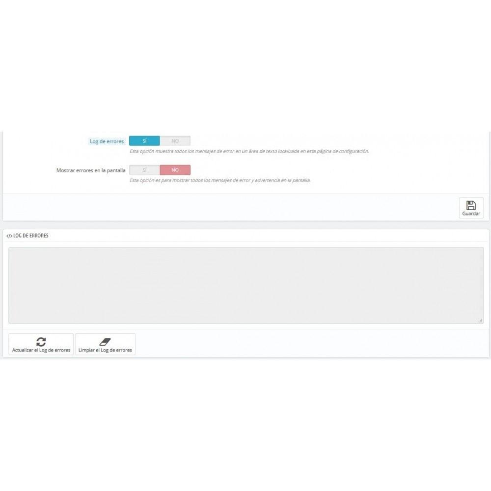 module - Seguridad y Accesos - Selector modo Debug - Basado en direcciones IP - 7