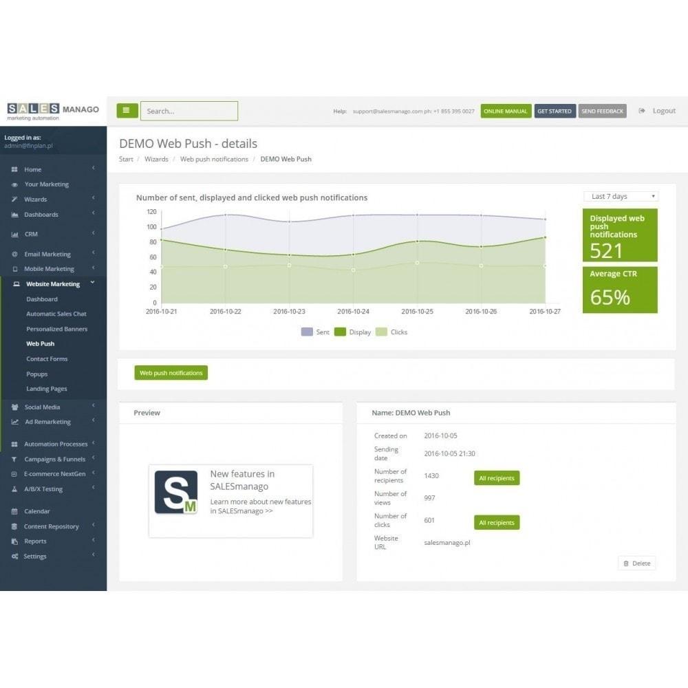 module - Remarketing y Carritos abandonados - SALESmanago Marketing Automation para eCommerce - 9