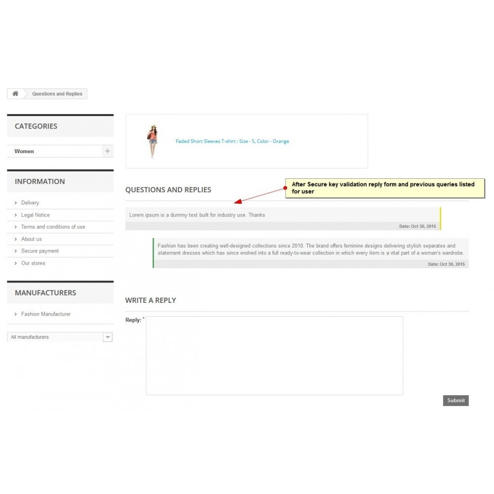 module - Contact Forms & Surveys - Product Inquiry, Product Quotation - 9