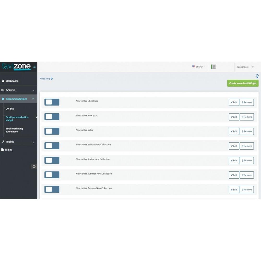 module - Cross-selling & Product Bundles - Favizone – Full personalization made easy - 2