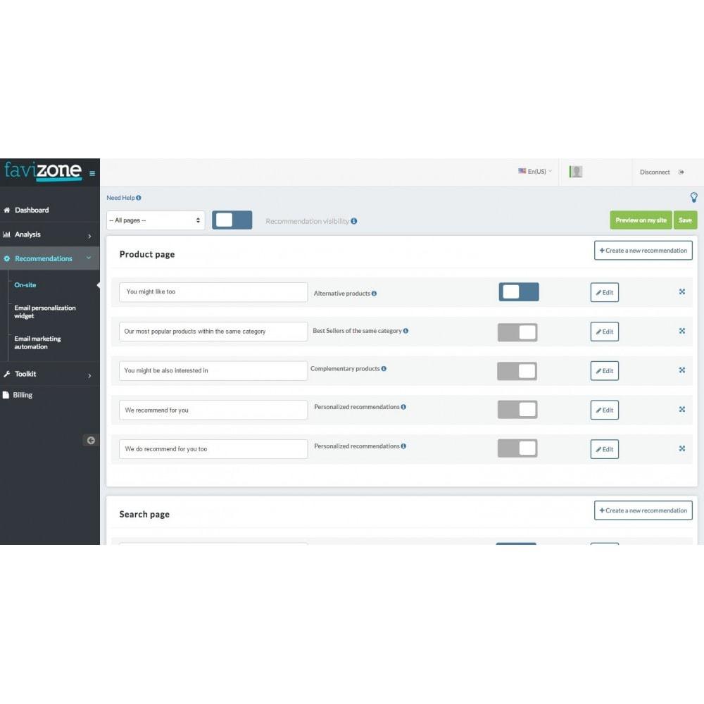 module - Cross-selling & Product Bundles - Favizone – Full personalization made easy - 4