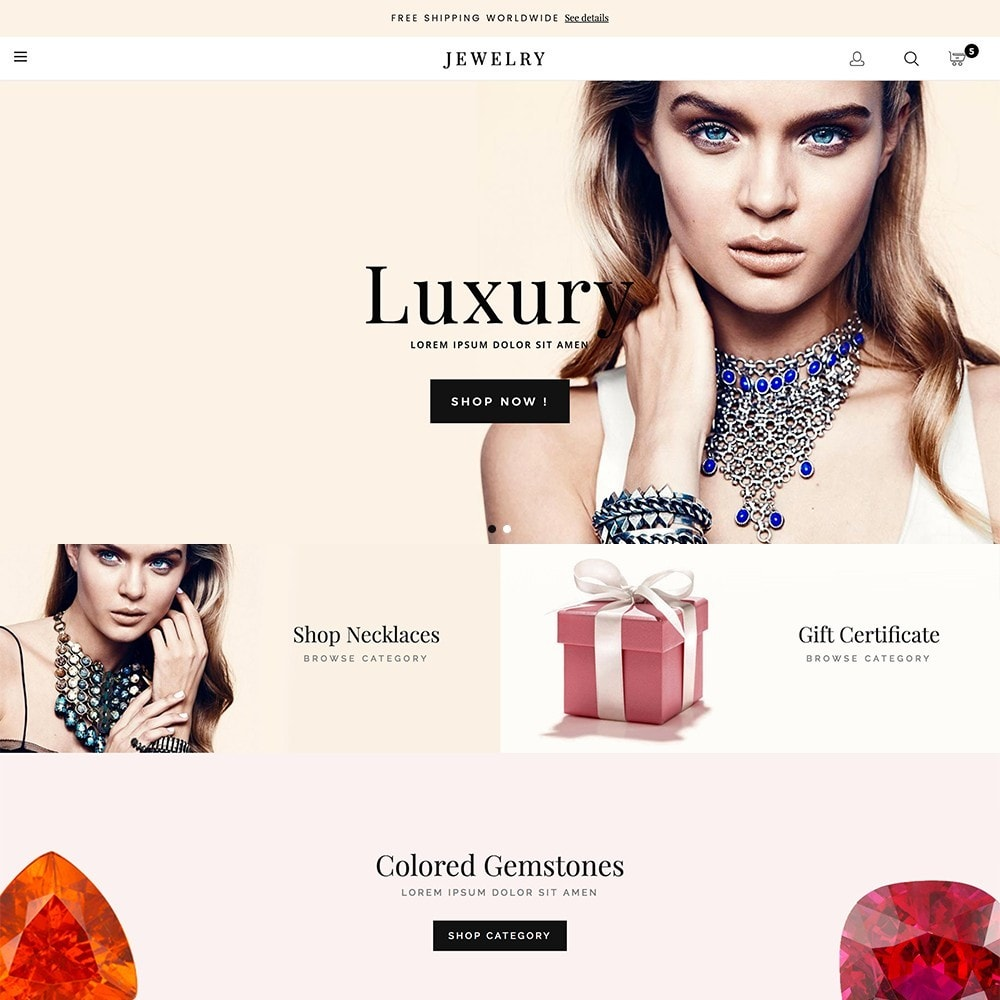 theme - Jewelry & Accessories - Luxury Jewelry - 2