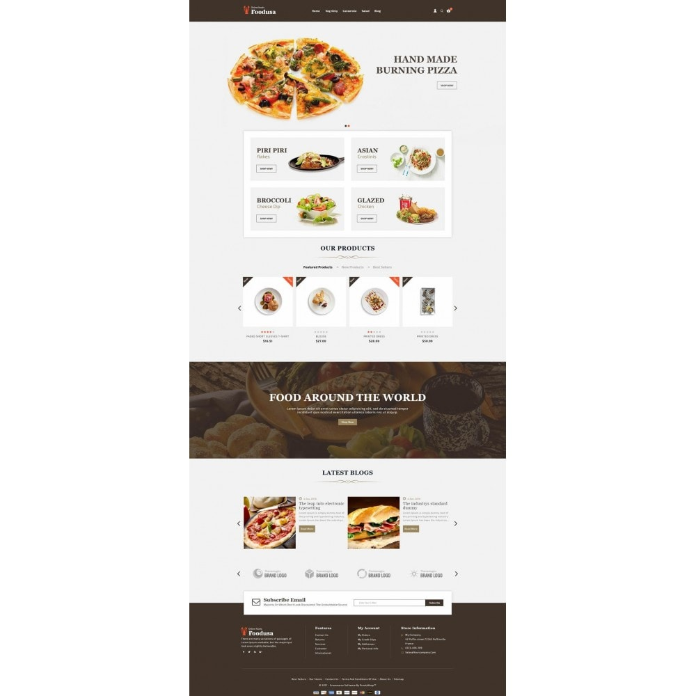 theme - Lebensmittel & Restaurants - Foodusa Store - 2